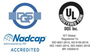 Group of logos showing credentials